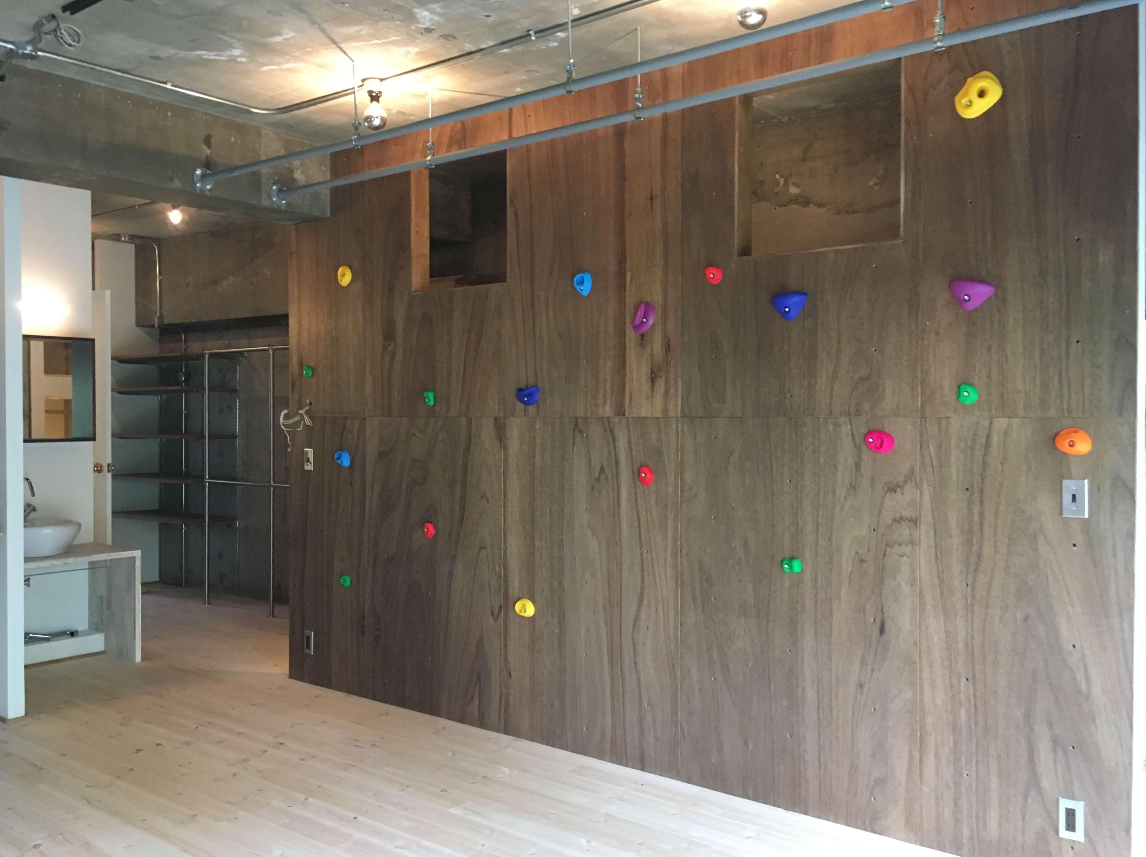 東京都木場にあるボルダリングができるリノベーション事例