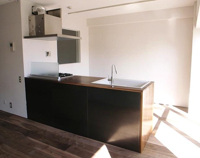 造作キッチンの事例画像