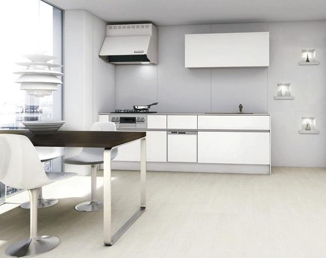 システムキッチンの事例画像