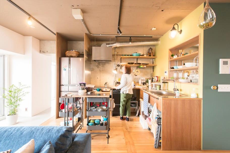 広々としたキッチンで楽しくお料理