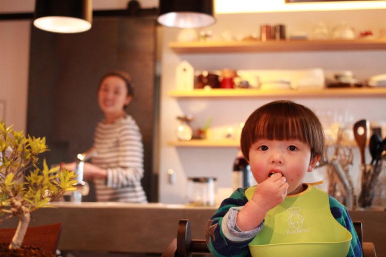 東京都目黒48㎡のリノベーション事例・キッチンの様子