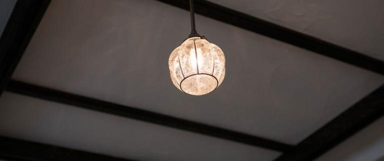 参宮橋リノベ事例の照明