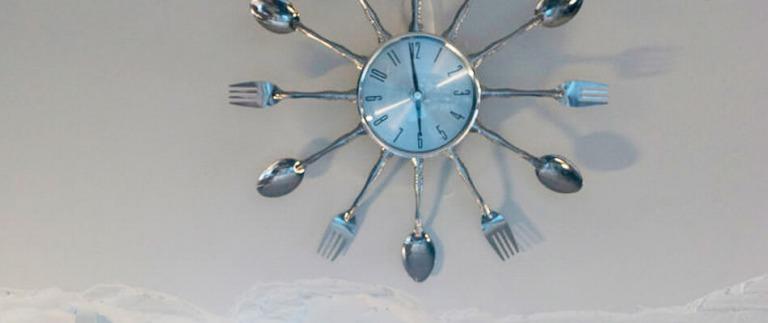 武蔵浦和リノベ事例の時計