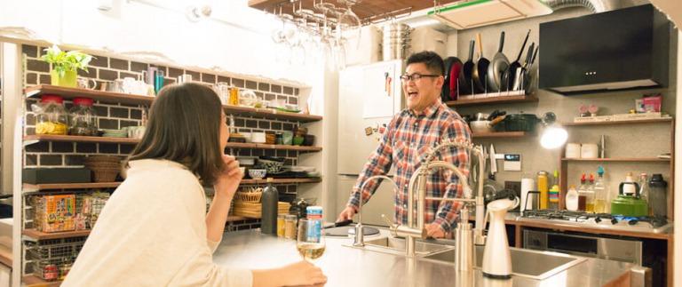 武蔵浦和リノベ事例のキッチン
