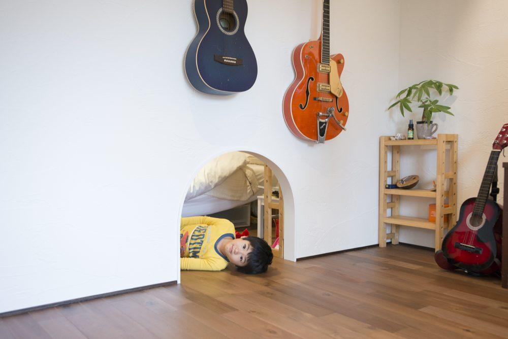 小川邸の子供部屋