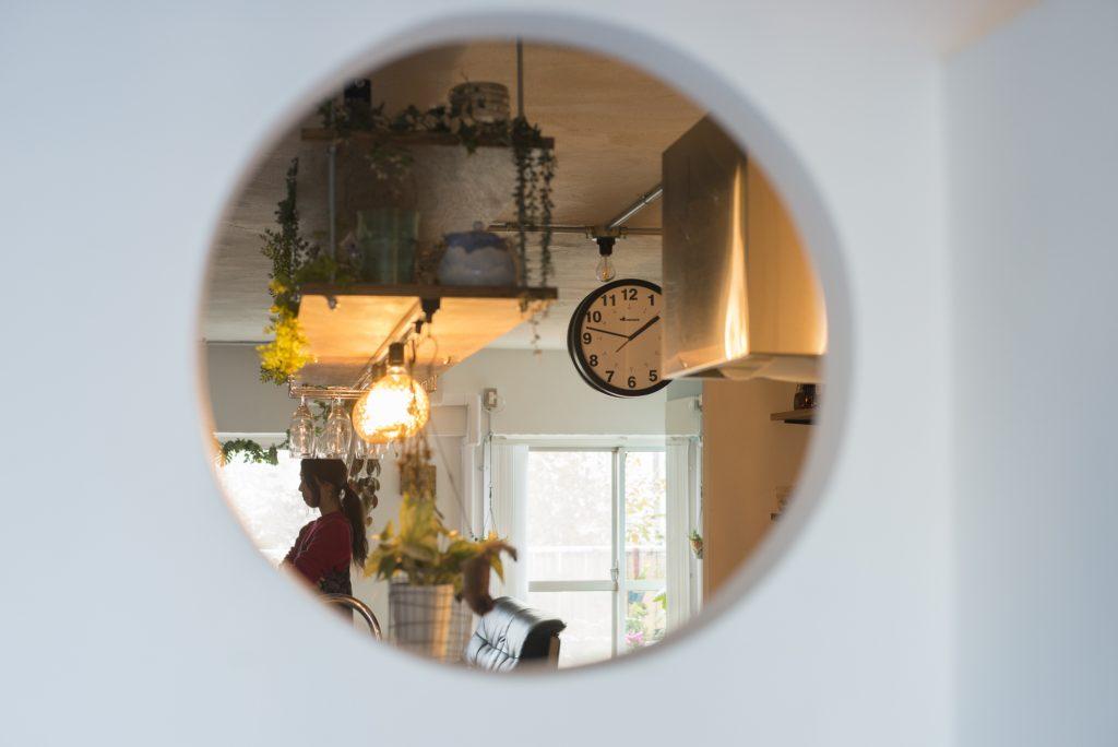 平山邸の窓