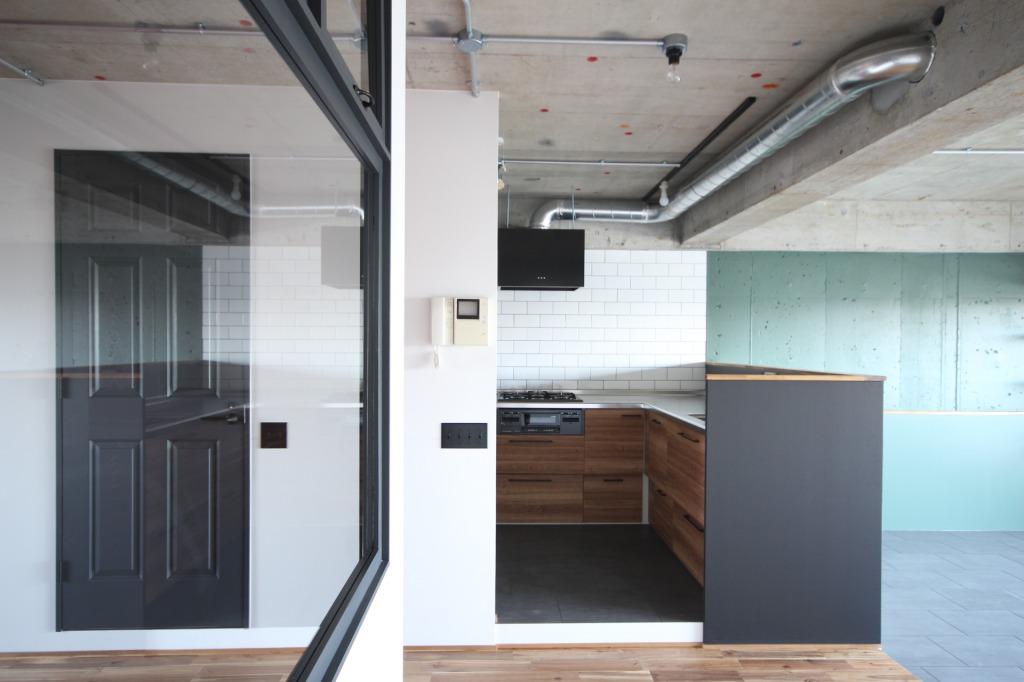 橋本ゼロリノベのキッチン事例