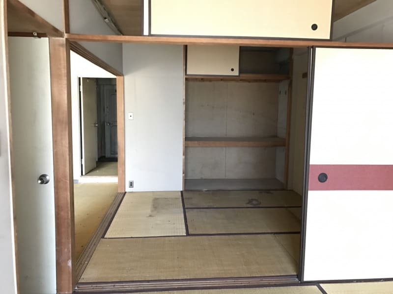 武蔵浦和のリノベーション前の居間