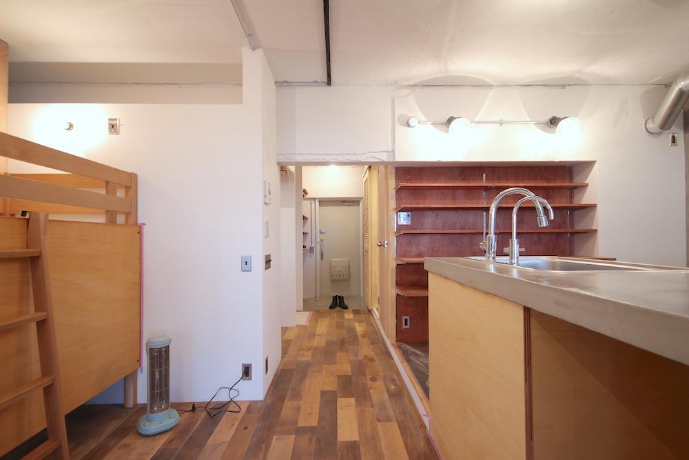 武蔵浦和の中古マンションのリノベーション事例のキッチン