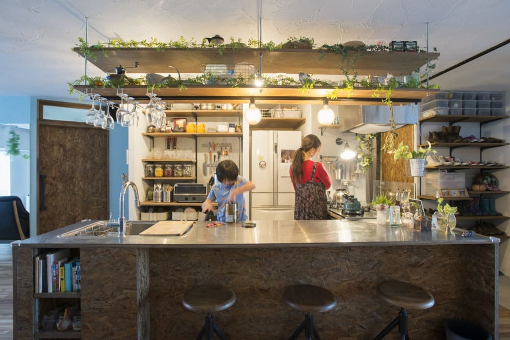 武蔵浦和のリノベーションキッチン