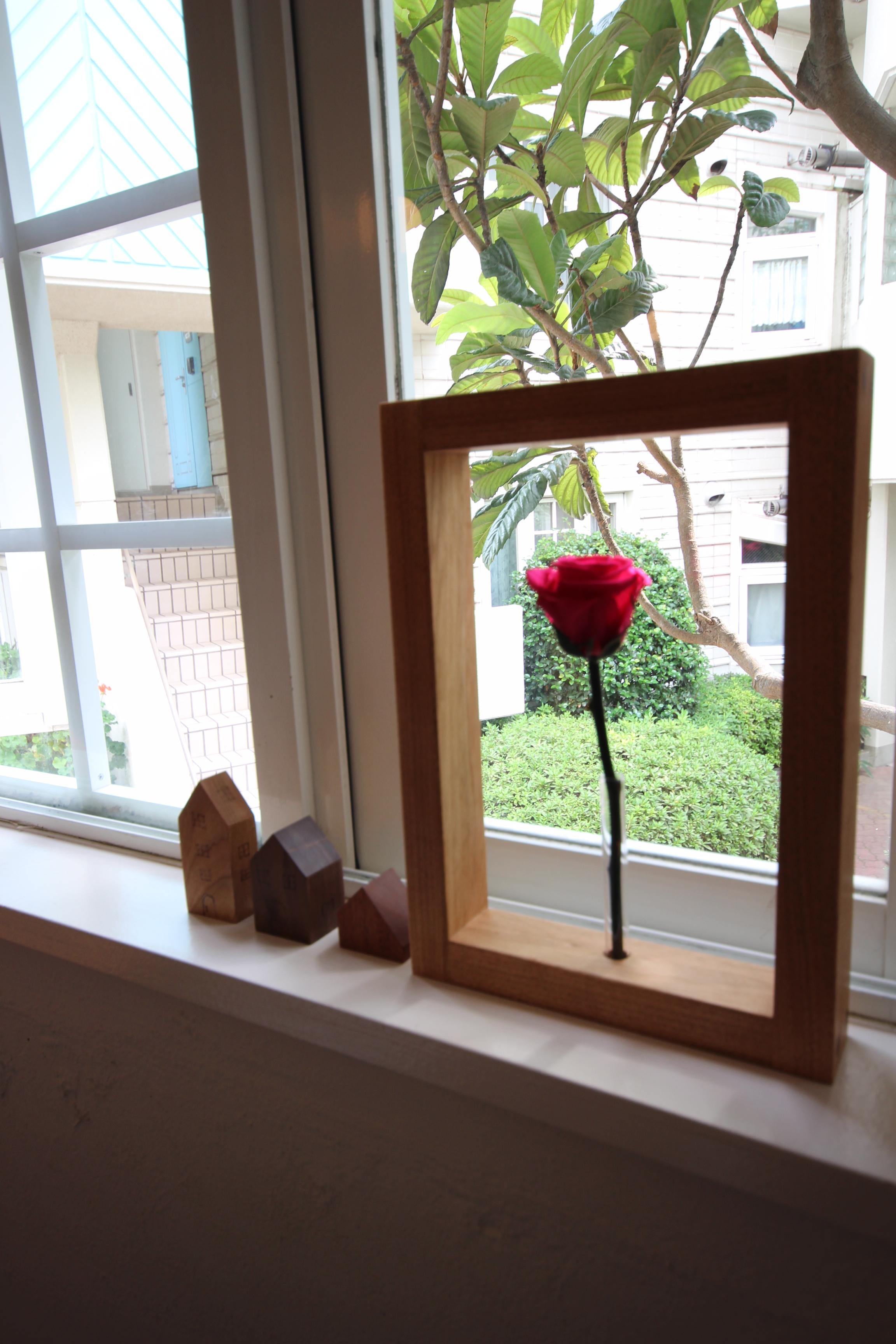 窓辺の装飾