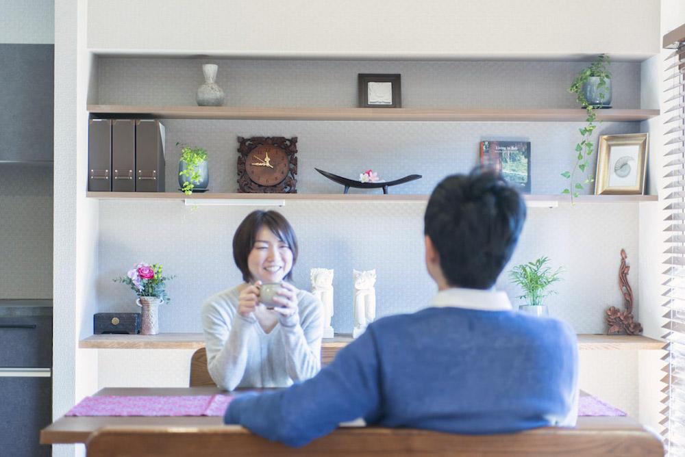 武蔵浦和の中古マンションのリノベーションのダイニング