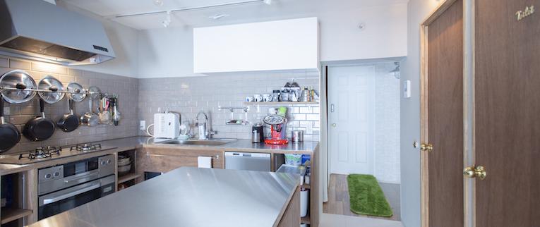 赤塚の中古マンションのリノベーション後のキッチン