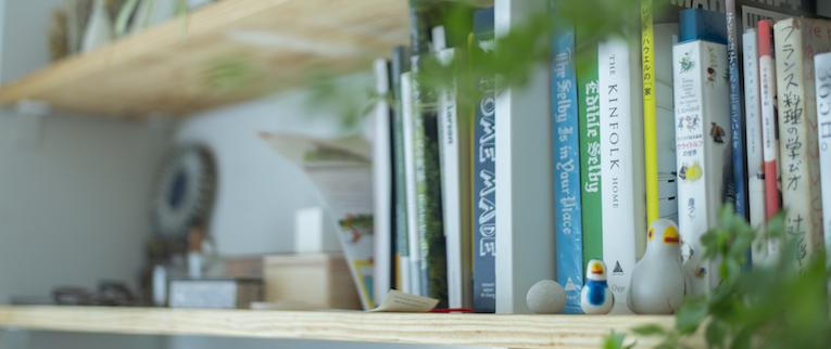 金町の中古マンションのリノベーション後の本棚
