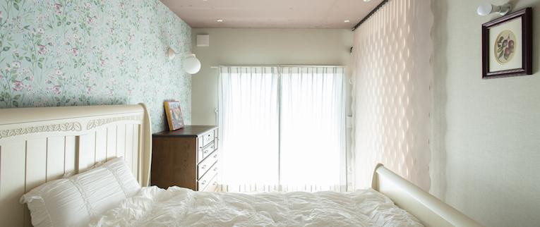 橋本の中古マンションのリノベーション後のベッドルーム