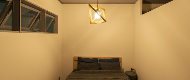 板橋本町の中古マンションのリノベーション後のベッドルーム