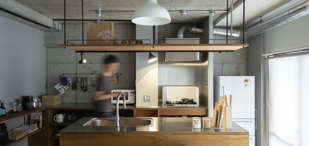 リノベーションらしい造作キッチン