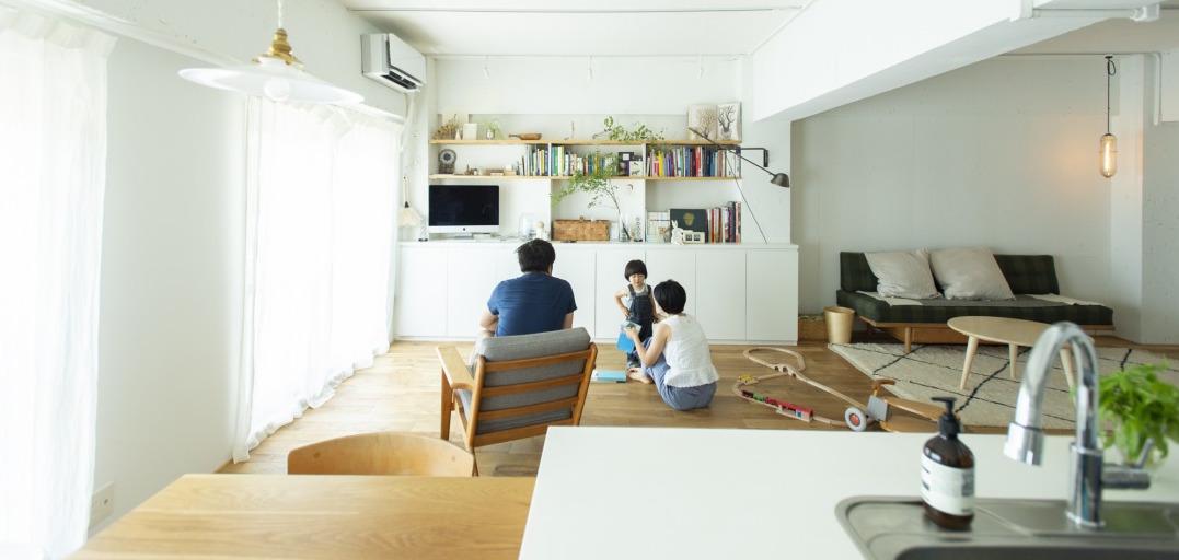 家族が集うリノベーション空間