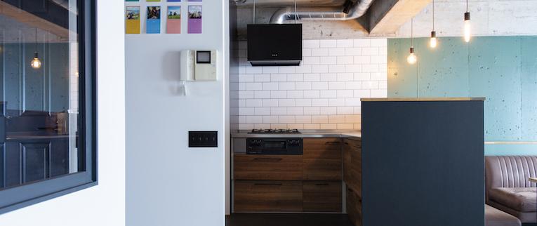 橋本の中古マンションのリノベーション後のキッチン