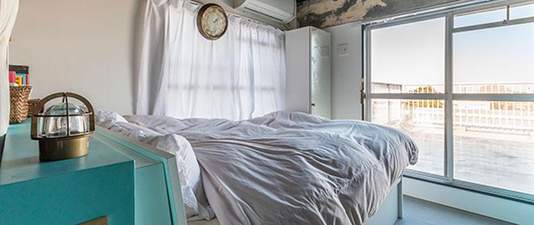 上板橋の中古マンションのリノベーション後のベッドルーム