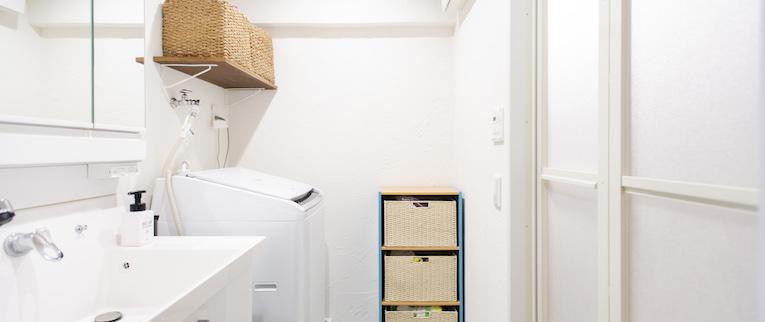 武蔵浦和の中古マンションのリノベーション後の洗面所