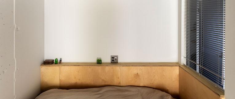 鷺沼の中古マンションのリノベーション後のベッドルーム