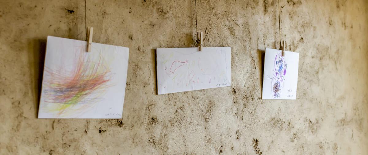 武蔵関リノベーション子供の絵