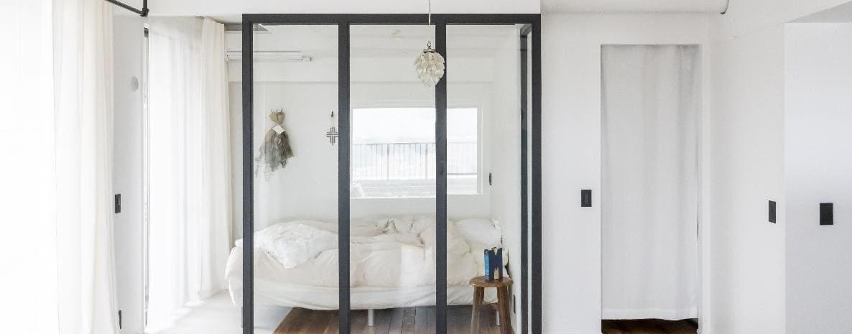 鳩ヶ谷のリノベーション後の寝室