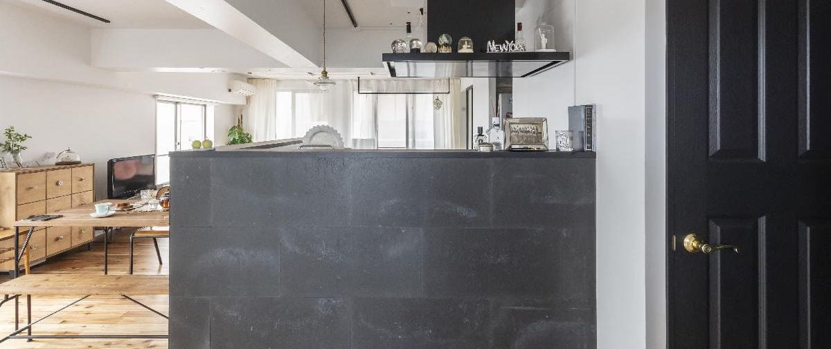鳩ヶ谷のリノベーション後のキッチン
