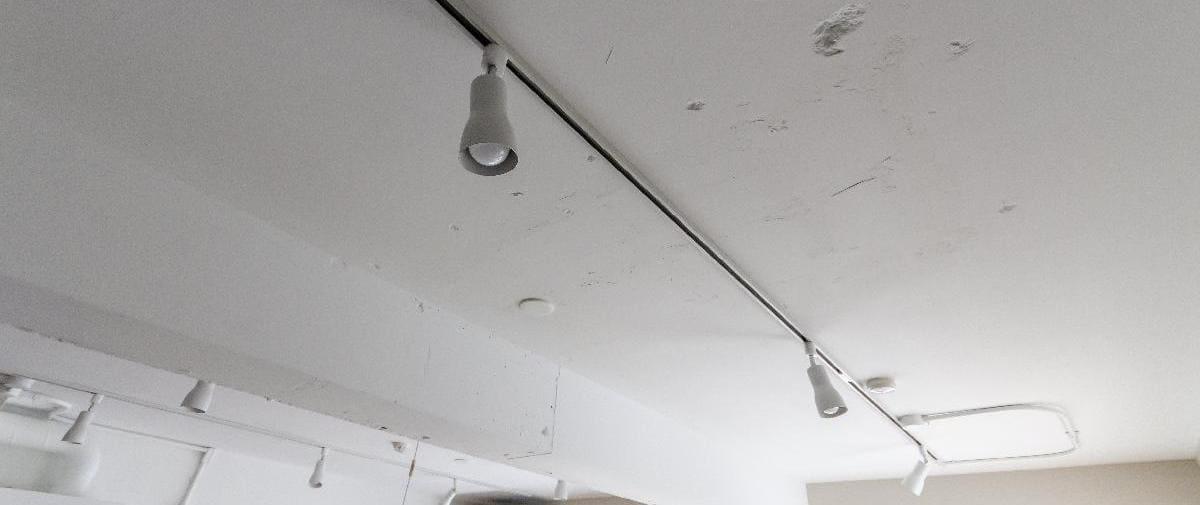 多摩センターの中古マンションのリノベーション後の照明レール