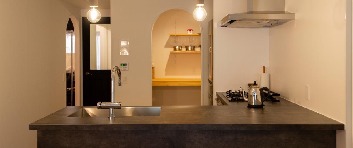 浦和の中古マンションのリノベーション後のキッチン