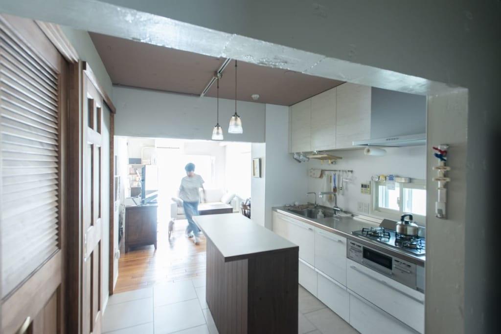 壁付けキッチン事例10