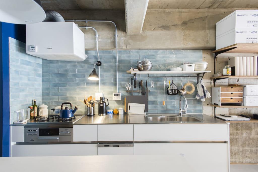 壁付けキッチン事例11