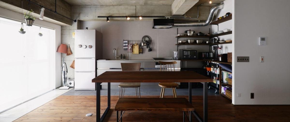 北千住の中古マンションのリノベーション後のキッチン