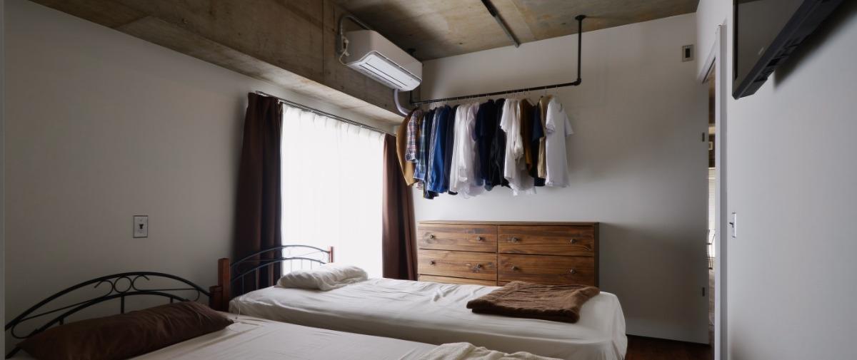 北千住の中古マンションのリノベーション後のベッドルーム
