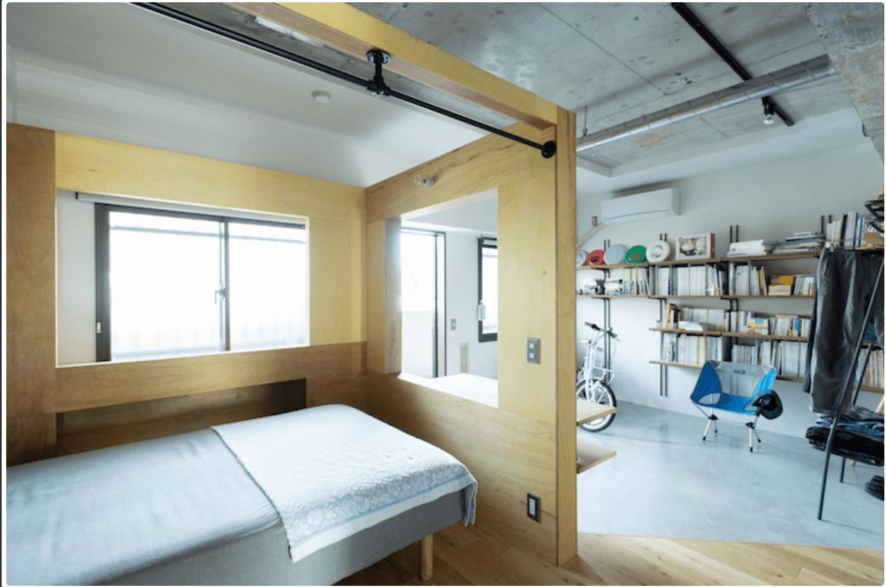 リノベ後のベッドルーム