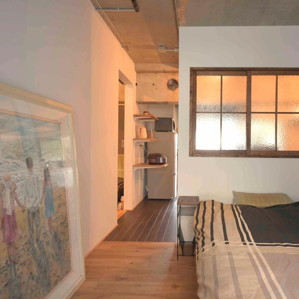 新松戸の中古マンションのリノベーション後の寝室