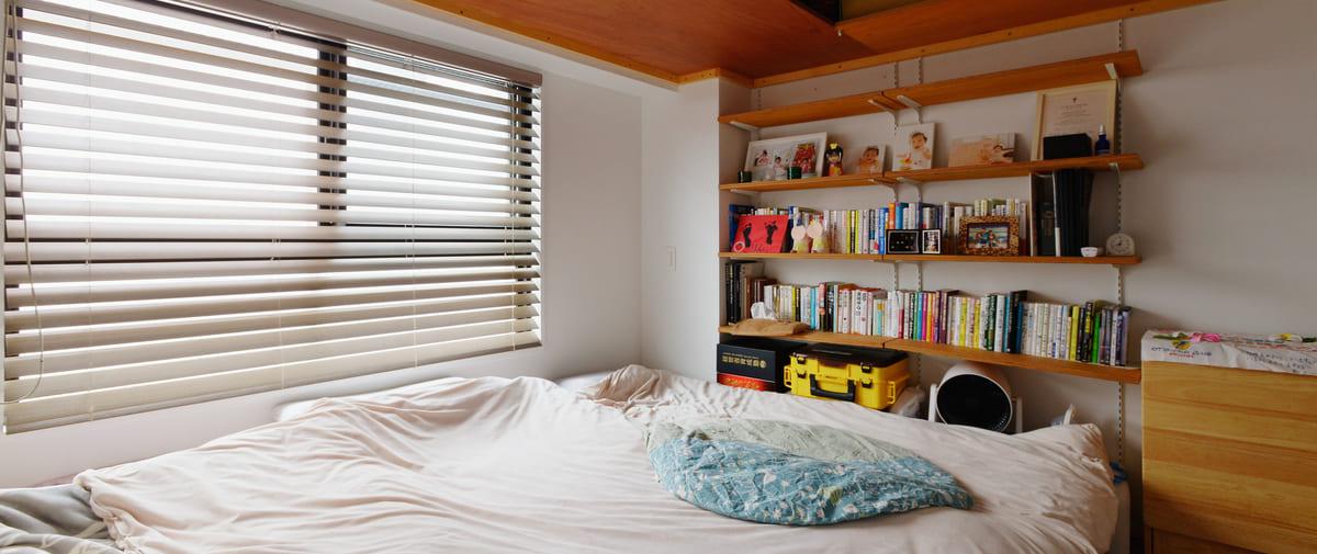 高井戸の中古マンションのリノベーション後のベッドルーム