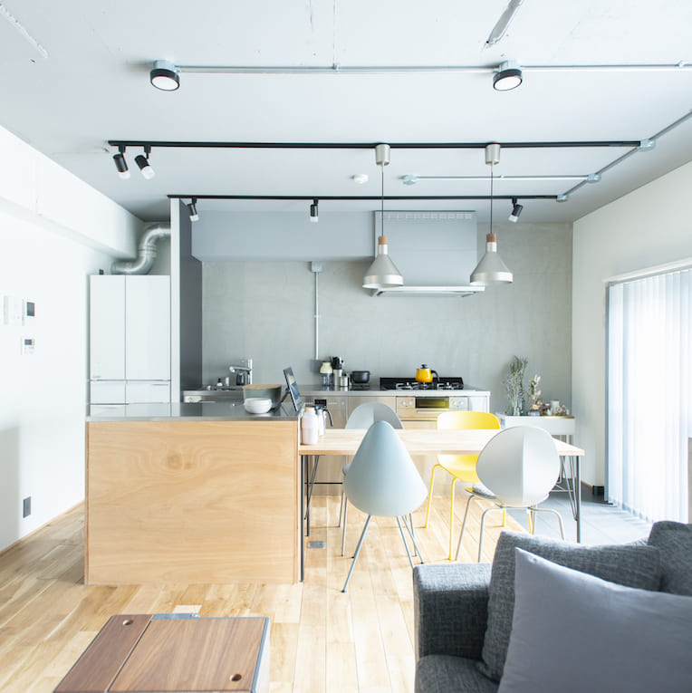 板橋本町の中古マンションのリノベーションのキッチン