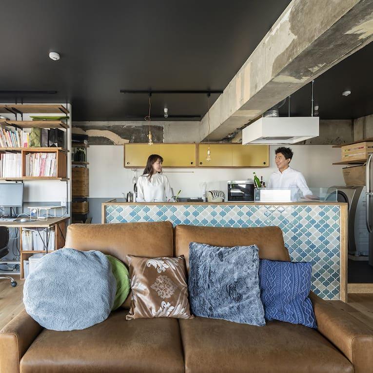 上板橋の中古マンションのリノベーション後のキッチン