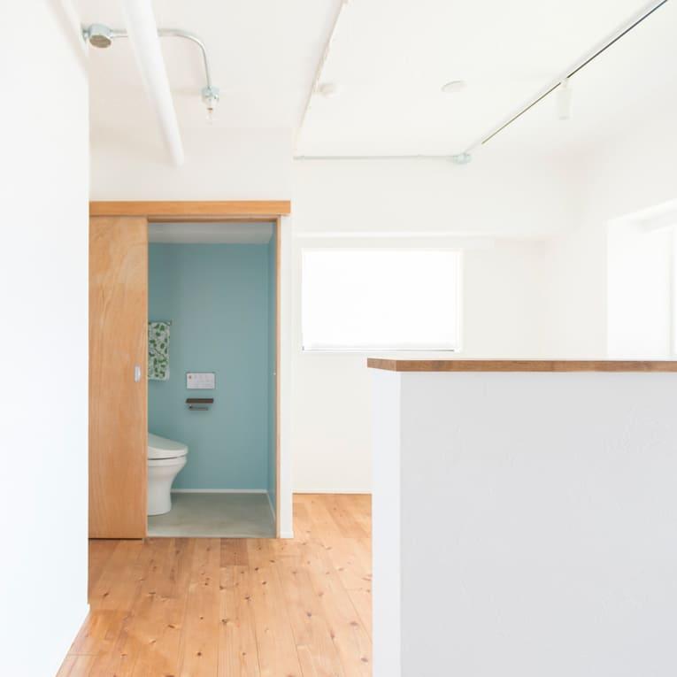 川口の中古マンションのリノベーション事例のトイレ