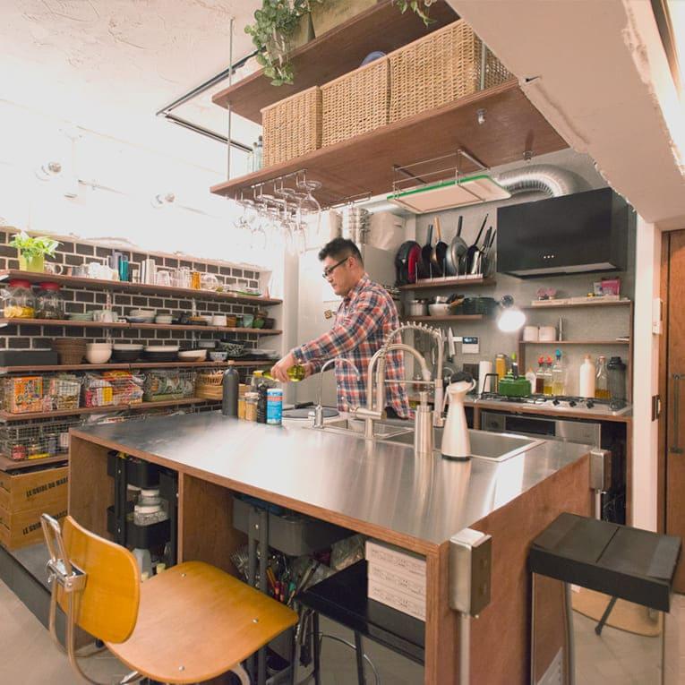 武蔵浦和の中古マンションのリノベーションのキッチン