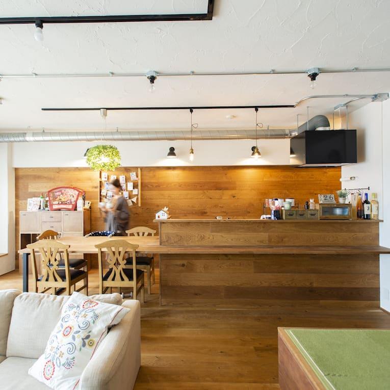 武蔵浦和の中古マンションのリノベーション後のキッチン