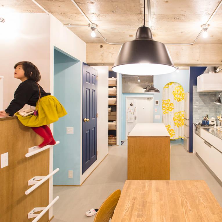 中村橋の中古マンションのリノベーションのキッチン