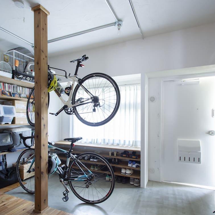 新松戸の中古マンションのリノベーション後の玄関