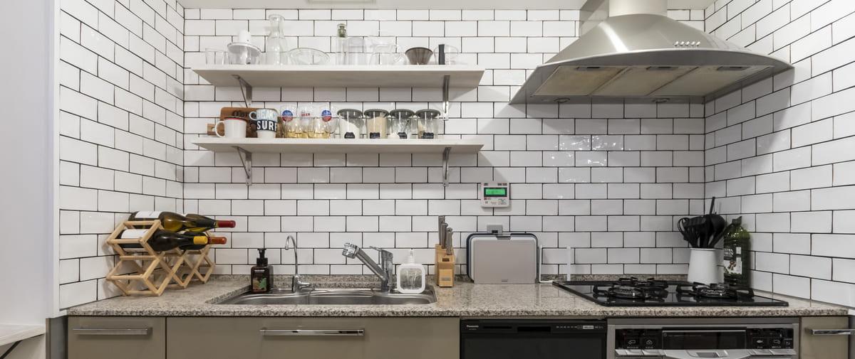 駒込の中古マンションのリノベーション後のキッチン