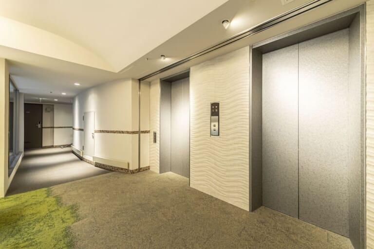 マンション エレベーター画像