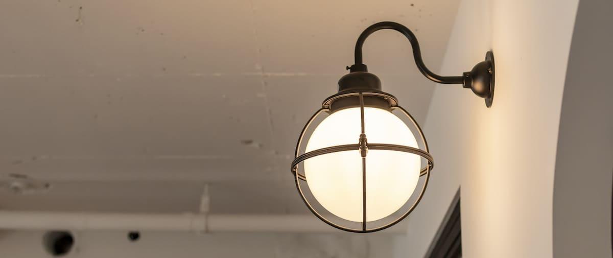 外苑前の中古マンションのリノベーション後の照明