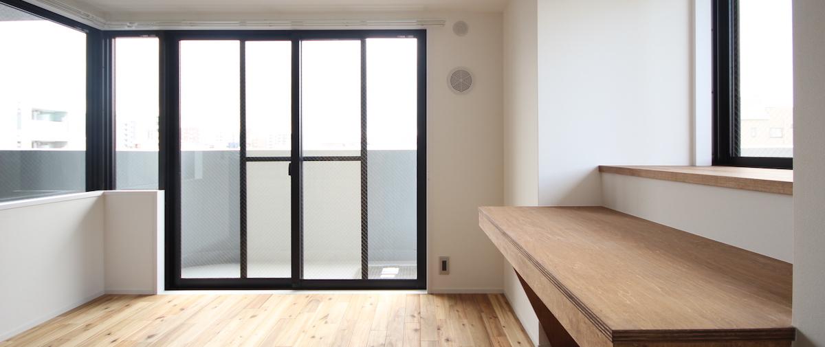本所吾妻橋の中古マンションのリノベーション後の窓