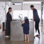 祖師ヶ谷大蔵の中古マンションのリノベーション後のキッチン側面
